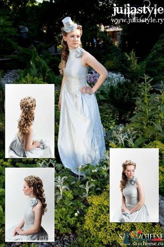 Фото 131849 в коллекции Фотографии свадебных причесок - Свадебный стилист Юлия Зайченко
