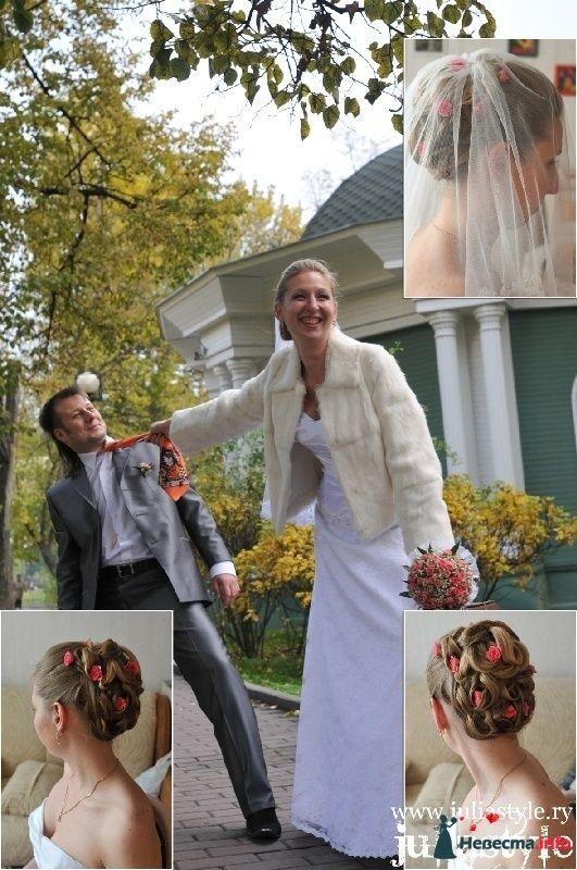 Фото 131854 в коллекции Фотографии свадебных причесок - Свадебный стилист Юлия Зайченко
