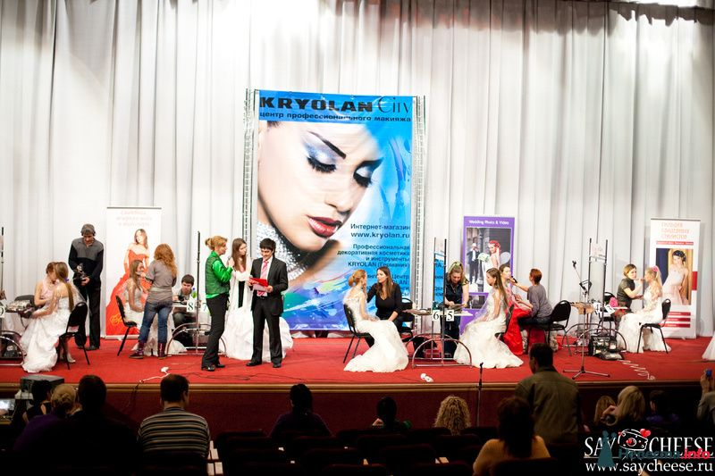 Фото 131858 в коллекции Чемпионат свадебных стилистов Wedding Style 2010