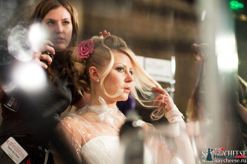 Фото 131862 в коллекции Чемпионат свадебных стилистов Wedding Style 2010 - Свадебный стилист Юлия Зайченко