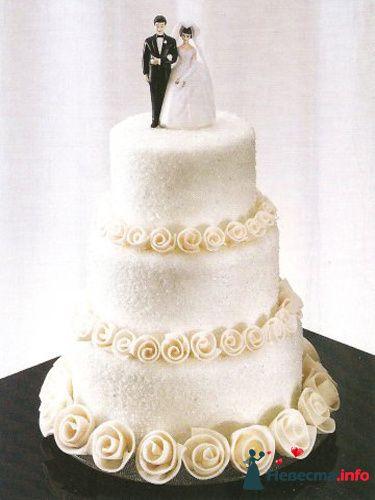 """Фото 128175 в коллекции Свадебные торты - """"Мир Любви"""" - студия свадебных услуг"""