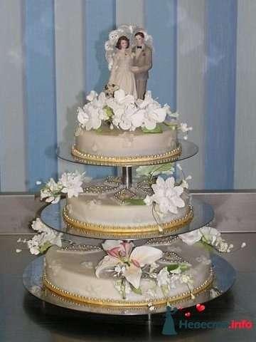"""Фото 128182 в коллекции Свадебные торты - """"Мир Любви"""" - студия свадебных услуг"""