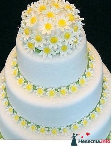 """Фото 128187 в коллекции Свадебные торты - """"Мир Любви"""" - студия свадебных услуг"""
