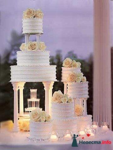"""Фото 128190 в коллекции Свадебные торты - """"Мир Любви"""" - студия свадебных услуг"""
