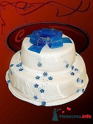 """Фото 128191 в коллекции Свадебные торты - """"Мир Любви"""" - студия свадебных услуг"""