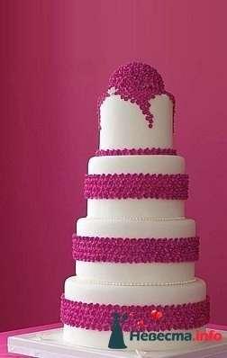 """Фото 128197 в коллекции Свадебные торты - """"Мир Любви"""" - студия свадебных услуг"""
