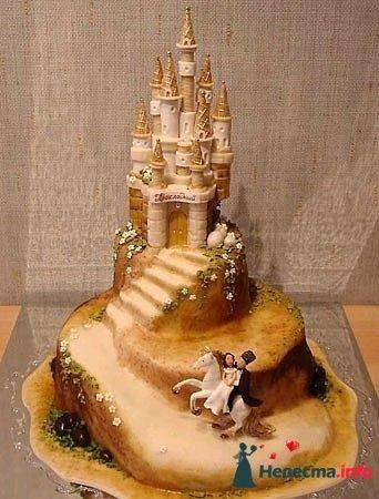 Фото 128208 в коллекции Свадебные торты