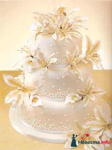"""Фото 128210 в коллекции Свадебные торты - """"Мир Любви"""" - студия свадебных услуг"""