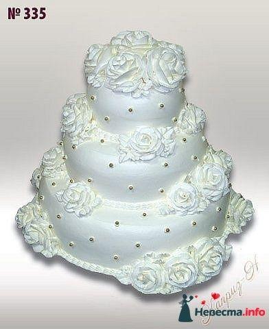 """Фото 128221 в коллекции Свадебные торты - """"Мир Любви"""" - студия свадебных услуг"""