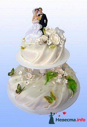 """Фото 128225 в коллекции Свадебные торты - """"Мир Любви"""" - студия свадебных услуг"""