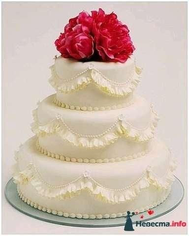 """Фото 128226 в коллекции Свадебные торты - """"Мир Любви"""" - студия свадебных услуг"""
