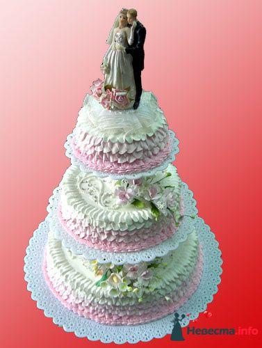 """Фото 128239 в коллекции Свадебные торты - """"Мир Любви"""" - студия свадебных услуг"""