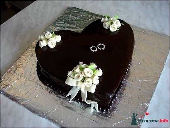 """Фото 128240 в коллекции Свадебные торты - """"Мир Любви"""" - студия свадебных услуг"""