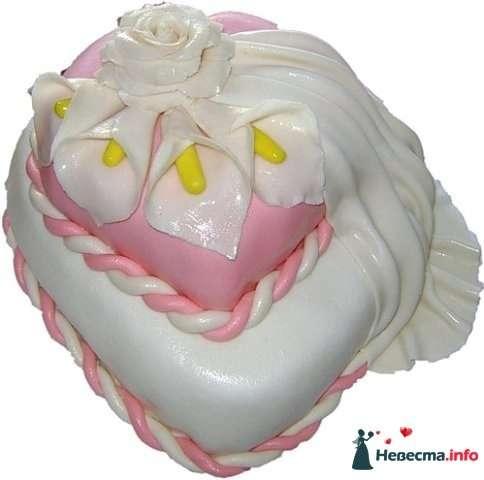 """Фото 128245 в коллекции Свадебные торты - """"Мир Любви"""" - студия свадебных услуг"""