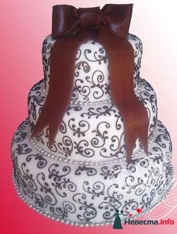 """Фото 128251 в коллекции Свадебные торты - """"Мир Любви"""" - студия свадебных услуг"""