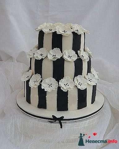 """Фото 128259 в коллекции Свадебные торты - """"Мир Любви"""" - студия свадебных услуг"""