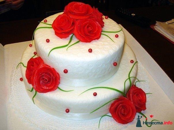 """Фото 128261 в коллекции Свадебные торты - """"Мир Любви"""" - студия свадебных услуг"""