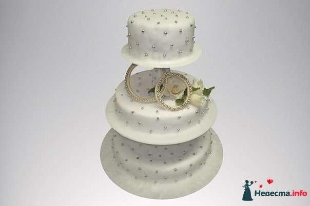 """Фото 128265 в коллекции Свадебные торты - """"Мир Любви"""" - студия свадебных услуг"""