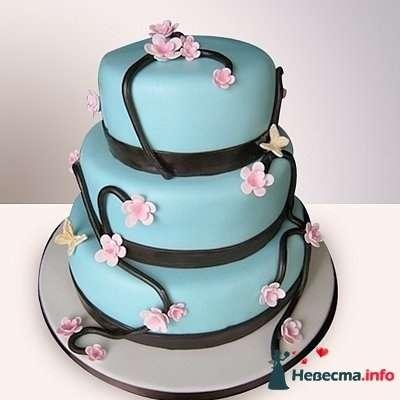 """Фото 128273 в коллекции Свадебные торты - """"Мир Любви"""" - студия свадебных услуг"""