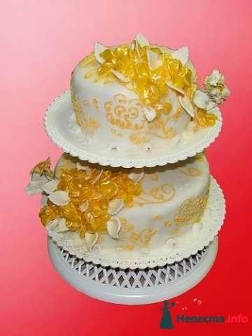 """Фото 128276 в коллекции Свадебные торты - """"Мир Любви"""" - студия свадебных услуг"""