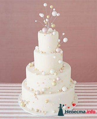 """Фото 128285 в коллекции Свадебные торты - """"Мир Любви"""" - студия свадебных услуг"""