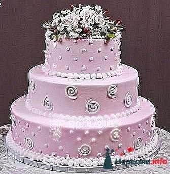 """Фото 128296 в коллекции Свадебные торты - """"Мир Любви"""" - студия свадебных услуг"""