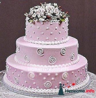 Фото 128296 в коллекции Свадебные торты