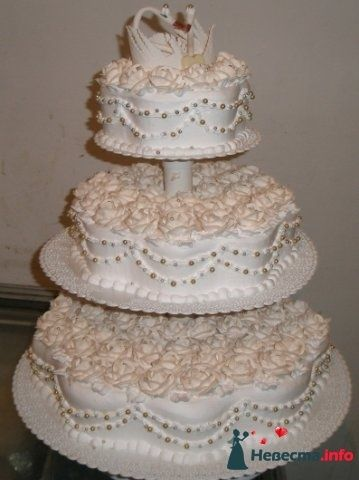Фото 128299 в коллекции Свадебные торты