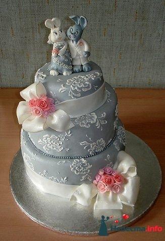 """Фото 128310 в коллекции Свадебные торты - """"Мир Любви"""" - студия свадебных услуг"""