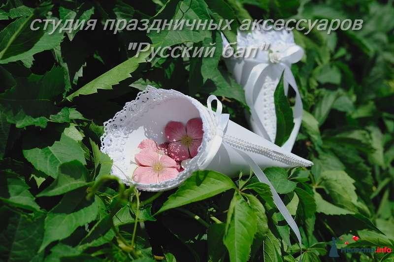 Фото 128902 в коллекции Студия Русский бал Кулечки для лепестков - Невеста01
