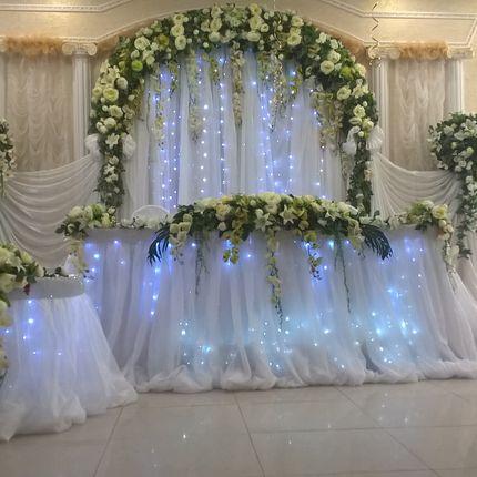 Оформление свадьбы + аренда декора