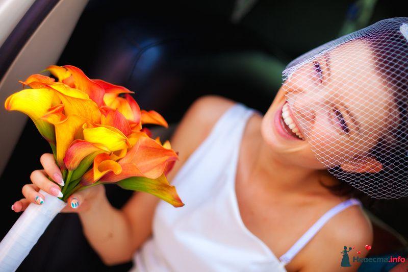 Счастливая невеста - фото 129726 Свадебный фотограф Максим Чесалин