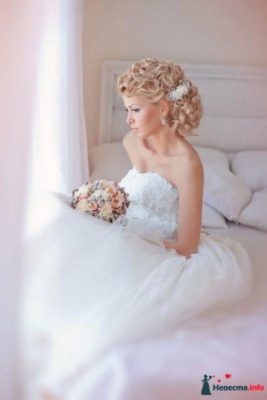 Свадьба платья прически