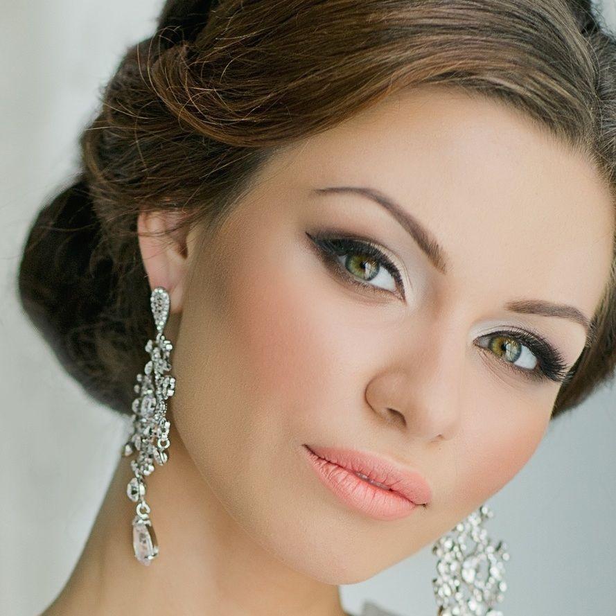 макияж на свадьбу для невесты фото подольская