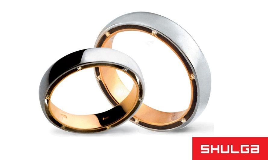 Обручальные кольца ПАРИЖ - фото 1276707 SHULGA - ювелирная компания