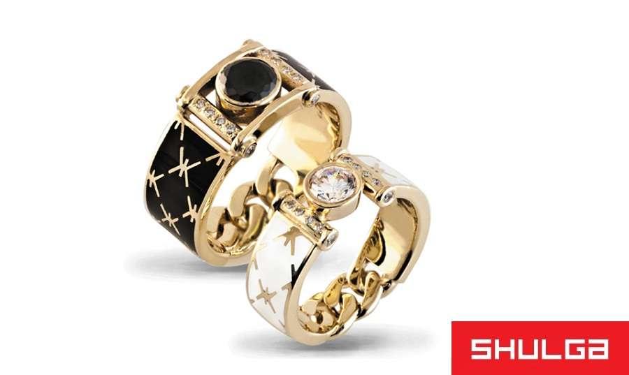 Обручальные кольца ВЕРСАЛЬ - фото 1277019 SHULGA - ювелирная компания