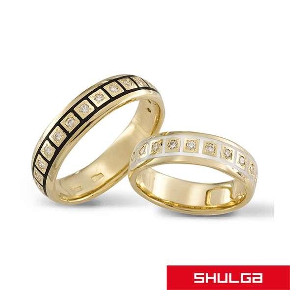 Обручальные кольца АФИНЫ - фото 1277101 SHULGA - ювелирная компания