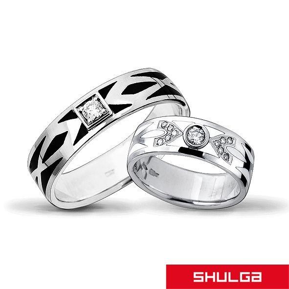 Обручальные кольца ТЕОРИЯ БЕСКОНЕЧНОСТИ - фото 1277471 SHULGA - ювелирная компания