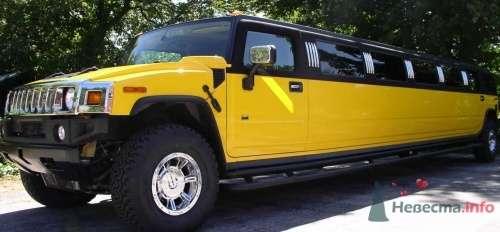 Хаммер желтый - фото 12357 Лимузин Престиж - пассажирские перевозки