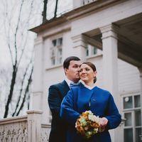осень, октябрь, свадьба
