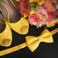 туфли невесты желтого цвета