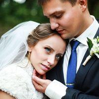 Жених и невеста. Сегодня были самые искренние чувства.