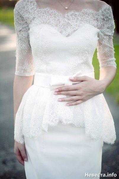 Платье на вторую свадьбу для невесты