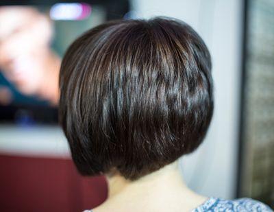 Стрижка волос одинаковой длины по всей голове