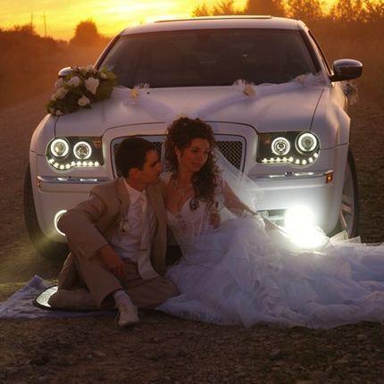 Свадебный кортеж Chrysler 300C