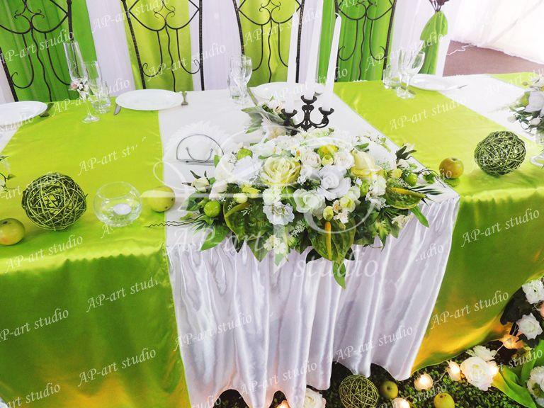 Фото 1422461 в коллекции Яблочная свадьба Любы и Саши - AP-art studio - свадебный декор и аксессуары