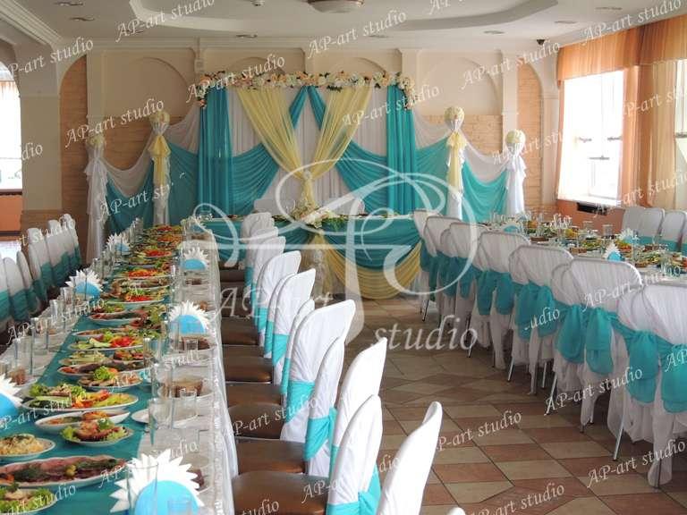 Фото 1422623 в коллекции Бирюза и ванильный - AP-art studio - свадебный декор и аксессуары