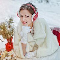 невеста, зима