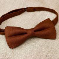Галстук-бабочка коричневого цвета. Стоимость бабочки - 790р.  Чтобы заказать пишите в л.с.  или по т. +7 950 038 54 26