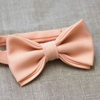 Галстук-бабочка светло-персикового цвета. Стоимость бабочки - 790р.  Чтобы заказать пишите в л.с.  или по т. +7 950 038 54 26
